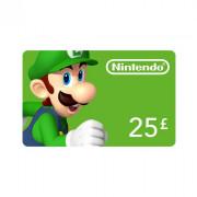 Nintendo eShop polnilna kartica 25 Font