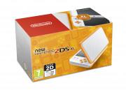 New Nintendo 2DS XL (White-Orangeyellow)