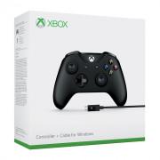 Xbox One kontroler (Black) + kabel za Windows