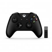 Xbox One brezžični kontroler (Black) + Adapter za Windows 10