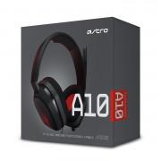 Astro A10 red gaming headset-slušalke