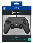 Playstation 4 (PS4) Nacon Wired Compact Kontroler (črni)