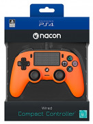 Playstation 4 (PS4) Nacon Wired Compact Kontroler (narančasti)