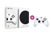 Xbox Series S 512GB + Xbox brezžični kontroler (beli)