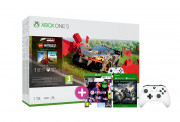 Xbox One S 1TB + Forza Horizon 4 LEGO Speed Champions + FIFA 21 + Gears of War 4 + dodatni kontroler (beli)