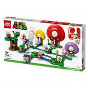 LEGO Mario Razširitveni komplet s Toadovim lovom na zaklad (71368)