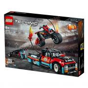LEGO Technic Kaskaderski tovornjak in motor (42106)