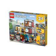 LEGO Creator Mestna trgovina z malimi živalmi in kavarna (31097)
