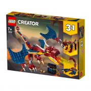 LEGO Creator  Ognjeni zmaj (31102)