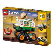 LEGO Creator Pošastni tovornjak s hamburgerji (31104)