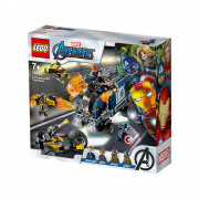 LEGO Super Heroes Spopad s tovornjakom Maščevalcev (76143)