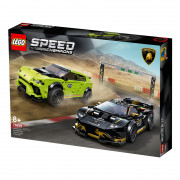 LEGO Speed Champions Lamborghini Urus ST-X & Lamborghini Huracán Super Trofeo EVO (76899)