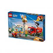 LEGO City Požar v kiosku s hamburgerji (60214)
