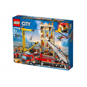 LEGO City Gasilska brigada gasi v centru mesta (60216)