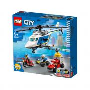 LEGO City Pregon s policijskim helikopterjem (60243)