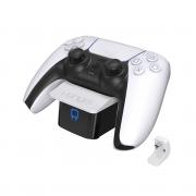 VENOM VS5000 PS5 polnilec kontrolerja (beli)