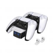 VENOM VS5001 PS5 polnilec kontrolerja (beli)