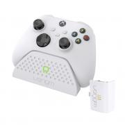 VENOM VS2870 Xbox Series S & X polnilec + 1 baterija (beli)