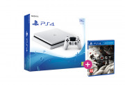 PlayStation 4 (PS4) Slim 500GB Glacier White (fehér) + Ghost of Tsushima