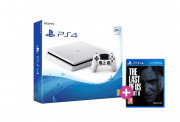 PlayStation 4 (PS4) Slim 500GB Glacier White (fehér) + The Last of Us Part II