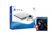 PlayStation 4 (PS4) Slim 500GB Glacier White (fehér) + Death Stranding