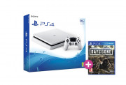 PlayStation 4 (PS4) Slim 500GB Glacier White (fehér) + Days Gone