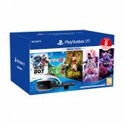 PlayStation VR Mega Pack 2020 (Blood & Truth, Moss, Astro Bot Rescue Mission, Everybodys Golf VR, VR Worlds)