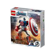LEGO Super Heroes Robotski oklep Stotnika Amerike (76168)