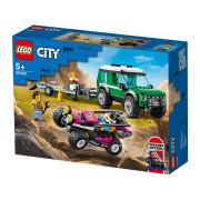 LEGO City Great Vehicles Transporter za tekmovalni bagi (60288)