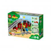 LEGO DUPLO Železniški tiri in most (10872)