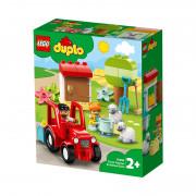 LEGO DUPLO Kmetijski traktor in nega živali (10950)