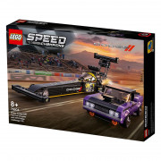 LEGO Speed Champions Mopar Dodge//SRT Top Fuel Dragster and 1970 Dodge Challenger T/A (76904)