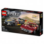 LEGO Speed Champions Chevrolet Corvette C8.R Race Car in 1968 Chevrolet Corvette (76903)