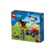 LEGO City Terenski štirikolesnik za reševanje divjih živali  (60300)