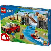 LEGO City Terenski avto za reševanje divjih živali (60301)