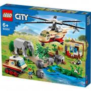 LEGO City Reševanje divjih živali (60302)