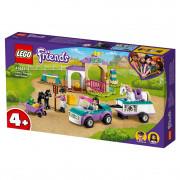 LEGO Friends Urjenje konjev in prikolica (41441)