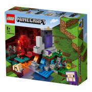 LEGO Minecraft Uničen portal (21172)