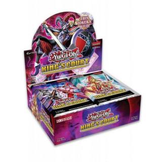 Yu-Gi-Oh! Kings Court Booster Display Merch