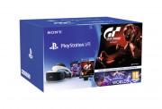 PlayStation VR Headset + Camera + VR Worlds + Gran Turismo Sport