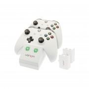 Venom VS2859 Xbox One beli polnilec + 2 bateriji