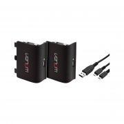 Venom VS2850 Xbox One black 2 bateriji  + 2m kabel