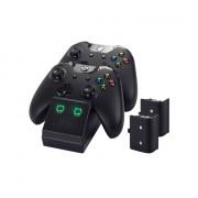 Venom VS2851 Xbox One črni polnilec + 2 bateriji