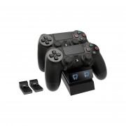 Venom VS2732 PS4 polnilec za 2 kontrolerja (črn)