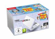 New Nintendo 2DS XL (White & Levendula) + Tomodachi Life