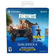 Playstation 4 (PS4) Dualshock 4 kontroler (črni) +  Fortnite DLC