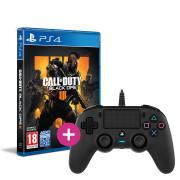 Call of Duty: Black Ops 4 + Nacon kontroler s kablom (črni)