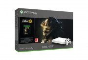 Xbox One X 1TB Robot White Special Edition + Fallout 76