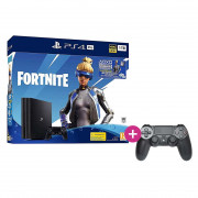 PlayStation 4 (PS4) Pro 1TB + Fortnite Neo Versa Bundle + PS4 Sony Dualshock 4 Kontroler