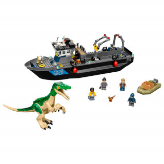 LEGO Jurassic World Baryonyx Dinosaur Boat Escape (76942) Merch